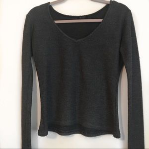 Brandy Melville Charcoal Grey Sweater
